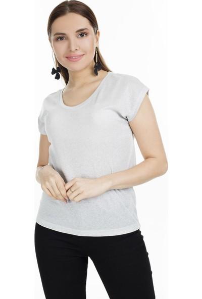 Only Onlsilvery Kadın Bluz 15136069