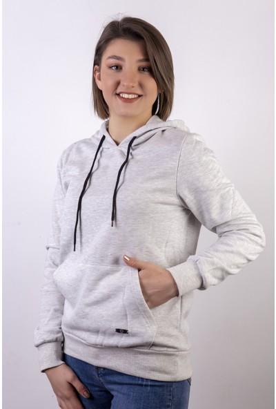 Densmood Kadın Kapüşonlu Sweatshirt