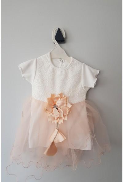 Tofimix Baby Kız Bebek 6-18 Ay Astarlı Elbise 12 Ay