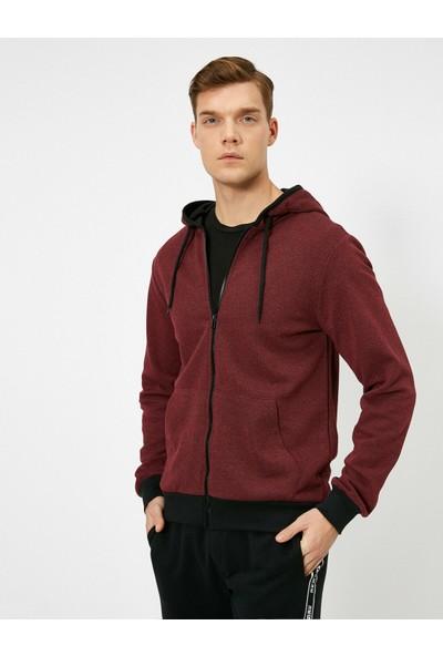 Koton Erkek Kapüşonlu Sweatshirt