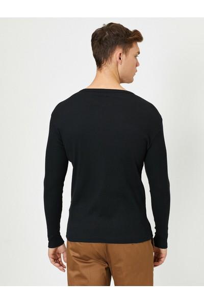 Koton Erkek Düz T-Shirt