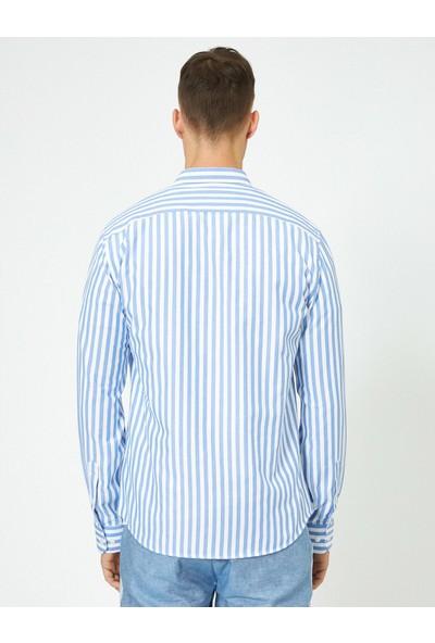 Koton Erkek Çizgili Gömlek