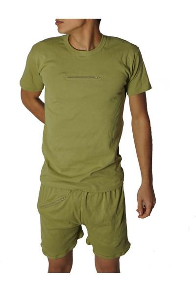 Modatime 2 'li Paket Asker Fermuarlı Atlet Takım - Fermurlı Fanilatakım