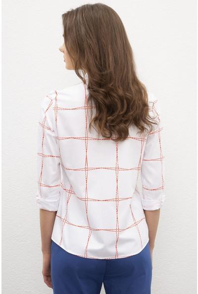 U.S. Polo Assn. Kadın Dokuma Gömlek 50218633-VR013