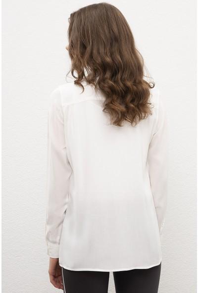 U.S. Polo Assn. Kadın Dokuma Gömlek 50220417-VR013