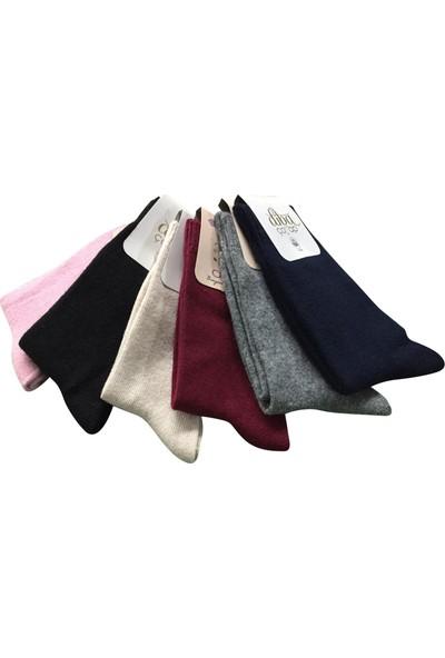 Diba Kışlık Lambswool Kadın Yün Çorap