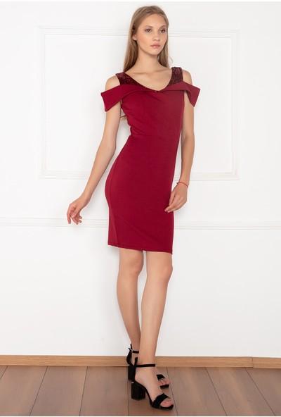 Kalopya Kadın Latus 13124 Dalgıç Kısa Elbise