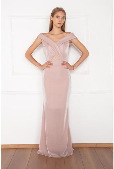Kalopya Kadın Mona 13155 Simli Elbise Elbise
