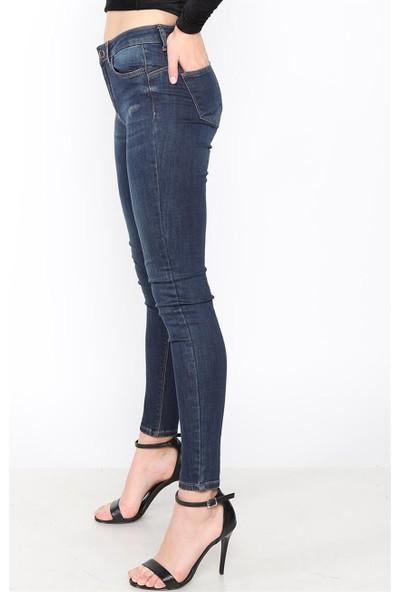 Twister Mindy Yüksek Bel Jean 9005-73 Lacivert