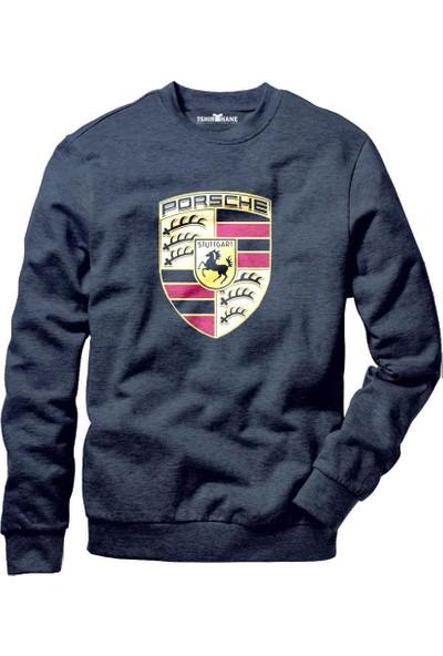 Tshirthane Porsche Logo Sweatshirt