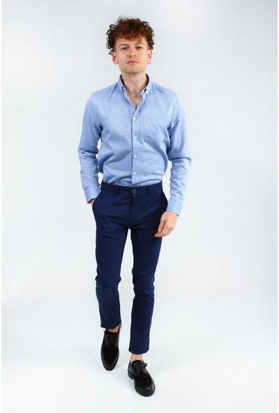 Collezione Erkek Lacivert Regular Pantolon