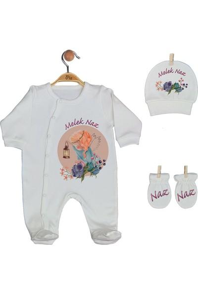 Pia Baby Gl 1930-03 İsme Özel Battaniyeli Tulum Seti