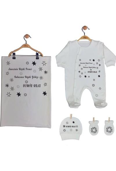 Pia Baby Gl 1950-03 İsme Özel Battaniyeli Tulum Seti