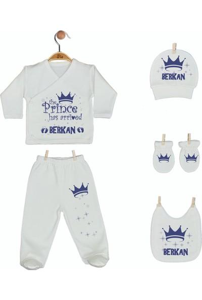Pia Baby Gl 1907-08 İsme Özel Yastık Zıbın Set