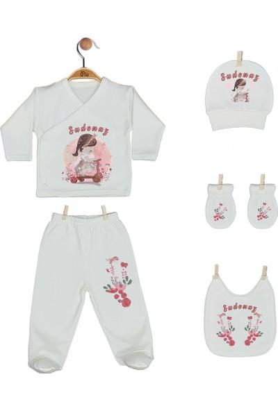 Pia Baby Gl 1940-08 İsme Özel Yastık Zıbın Set