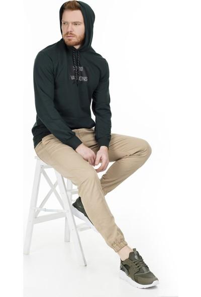 Buratti Kapüşonlu Erkek Sweatshirt 541Bldes
