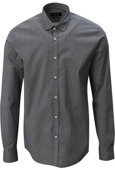 Lufian Slim Fit Amarillo Smart Gömlek