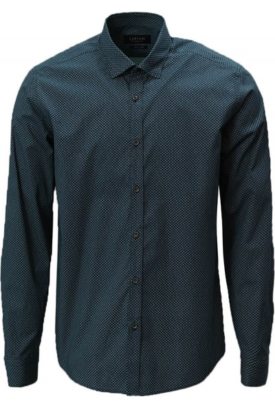 Lufian Slim Fit Terri Smart Gömlek
