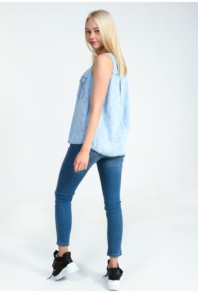Collezione Kadın Gömlek Kısa Kol Cowepe