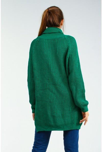 Collezione Kadın Yeşil Tunik Rolten