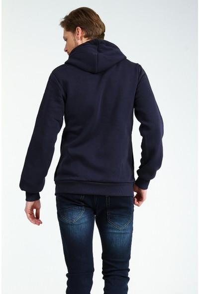 Collezione Erkek Lacivert Regular Sweat Shirt Vestoy-Emo