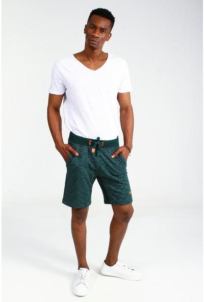 Collezione Erkek Yeşil Sort Bermuda Molesa