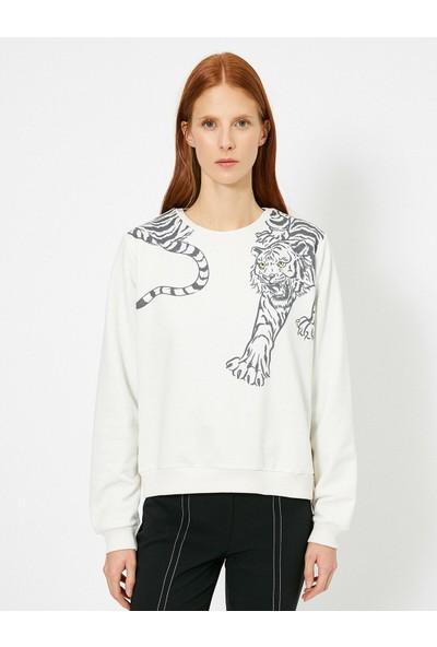 Koton Kadın Baskılı Sweatshirt
