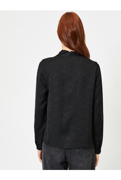 Koton Kadın Desenli Gömlek