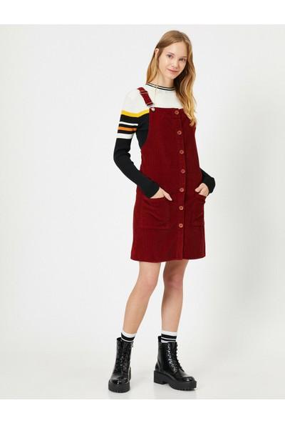Koton Kadın Kadife Elbise