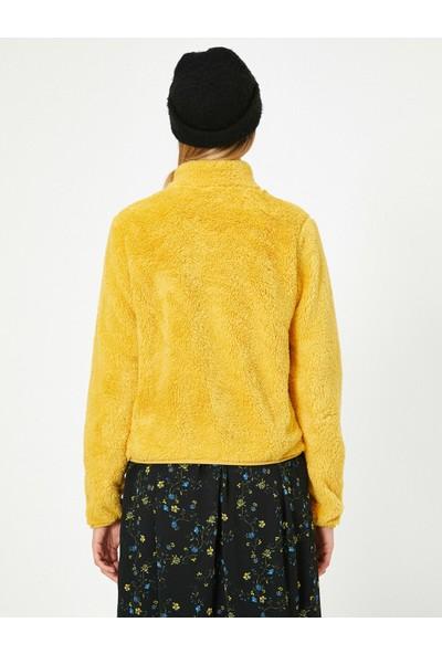 Koton Kadın Peluş Sweatshirt
