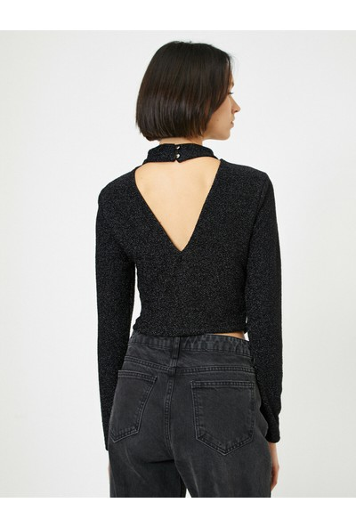 Koton Kadın Yaka Detaylı Bluz