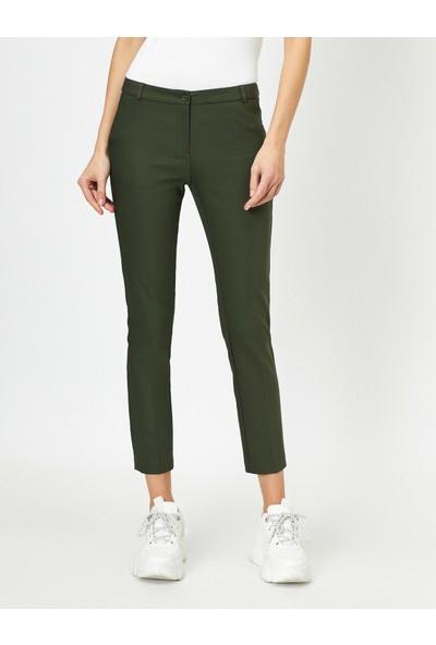 Koton Dügme Detaylı Pantolon
