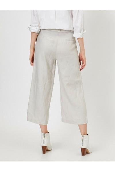Koton Kemer Detaylı Pantolon