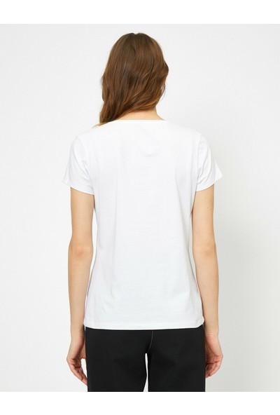 Koton Bisiklet Yaka T-Shirt
