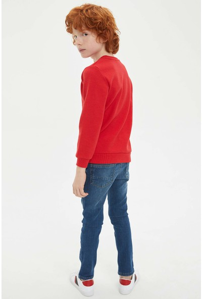 DeFacto Erkek Çocuk Slim Fit Jean Pantolon