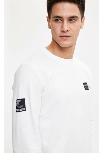 DeFacto Erkek Regular Fit Sweatshirt