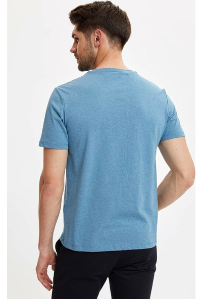DeFacto Erkek Basic Regular Fit T-Shirt