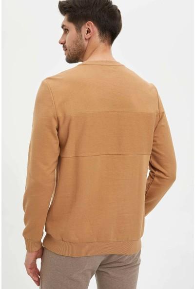 DeFacto Erkek Regular Fit Sweatshirt