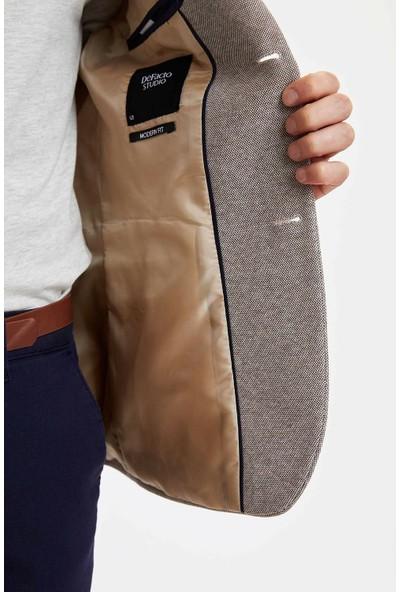 DeFacto Erkek Modern Fit Blazer Ceket