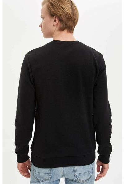 DeFacto Erkek New York Baskılı Sweatshirt