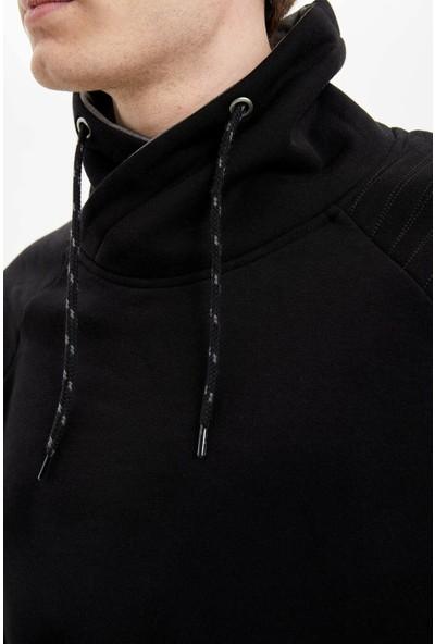 DeFacto Şal Yaka Slim Fit Sweatshirt N4760AZ20SP