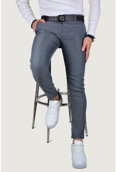 Terapi Men Erkek Keten Pantolon 9K-2200216-008 Lacivert