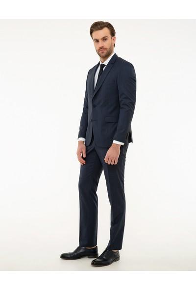 Pierre Cardin Açık Lacivert Slim Fit Takım Elbise 50225919-VR059