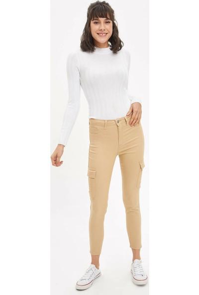DeFacto Anna Super Skinny Dokuma Pantolon M7718AZ20SP