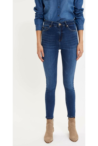 DeFacto Kadın Anna Super Skinny Fit Jean Pantolon
