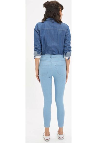 DeFacto Anna Yüksek Bel Super Skinny Jean Pantolon L0595AZ20SP
