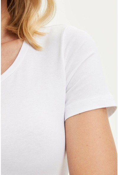DeFacto Kadın Basic T-shirt