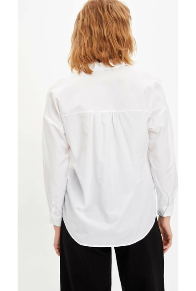 DeFacto Kadın Dokuma Gömlek