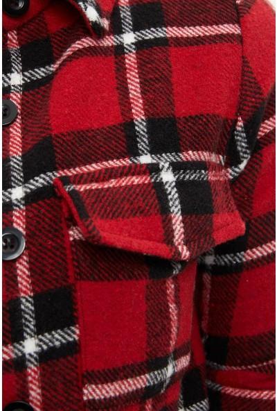 DeFacto Kadın Oduncu Flanel Ekose Gömlek