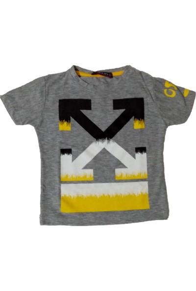Whoops Erkek Çocuk Dar Kalıp X Desenli Tişört
